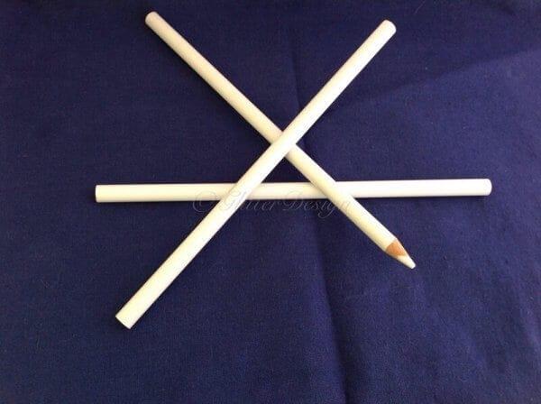Hotfix pick-up potlood strass