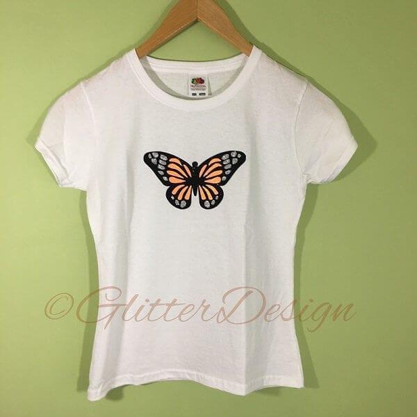 strijkapplicatie vlinder