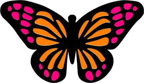 Vlinder in PDF