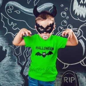 Strijkapplicatie Halloween Vleermuis