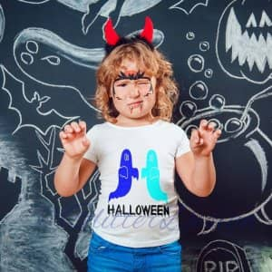 strijkapplicatie Halloween spoken