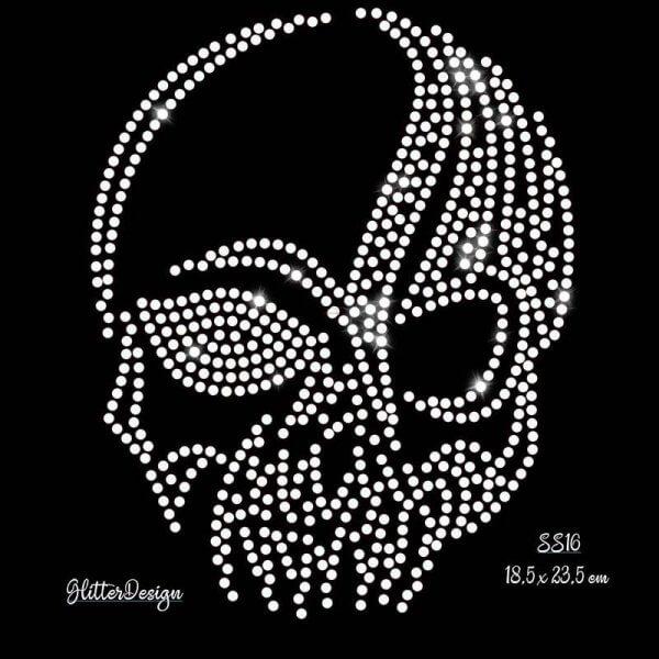 Hotfix Steentjes Patronen skull