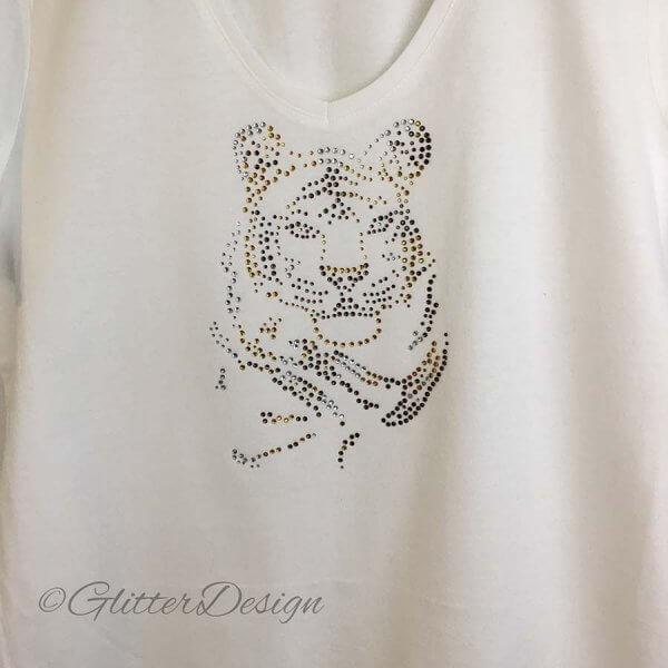 T-shirt met tijger