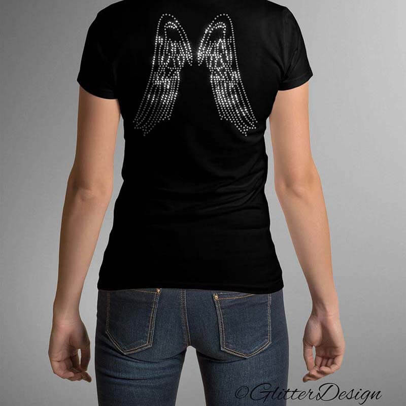 T-shirt Angel Wings