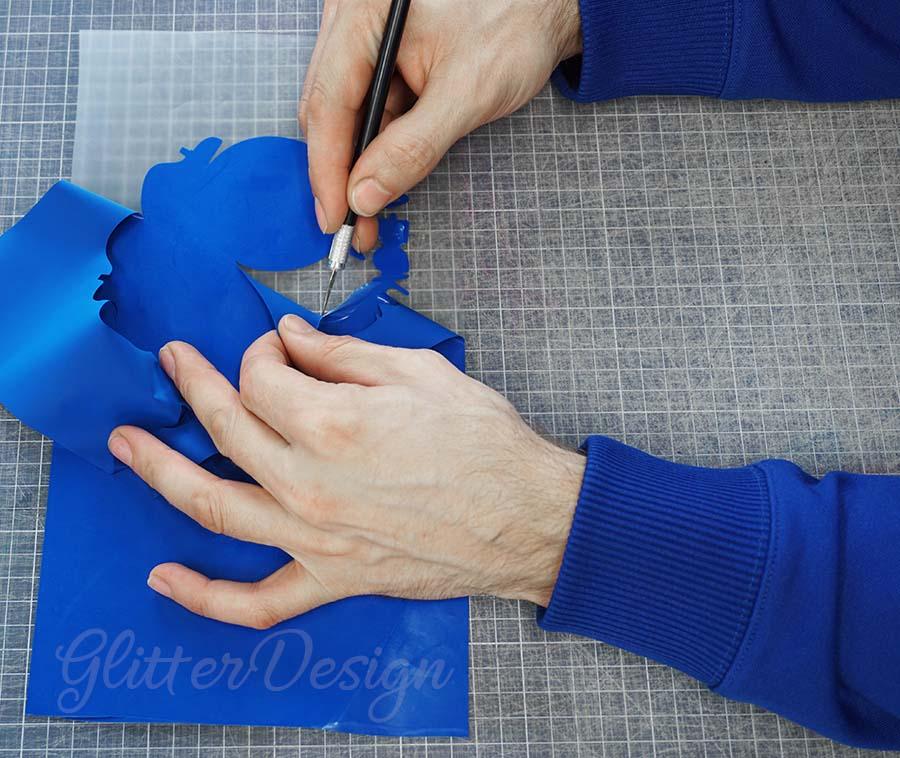 Flexfolie Snijden en Pellen