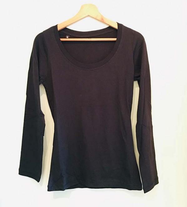 T-shirt met Lange Mouwen Dames