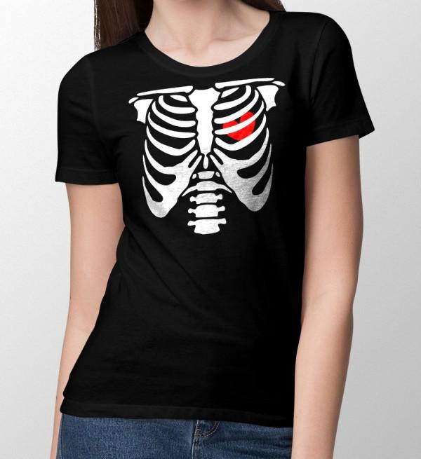 Halloween T-shirt Dames