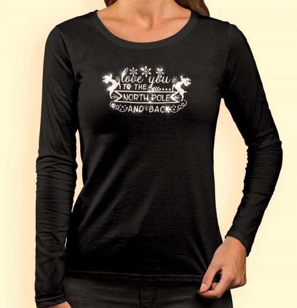 Foute Kerst shirt dames