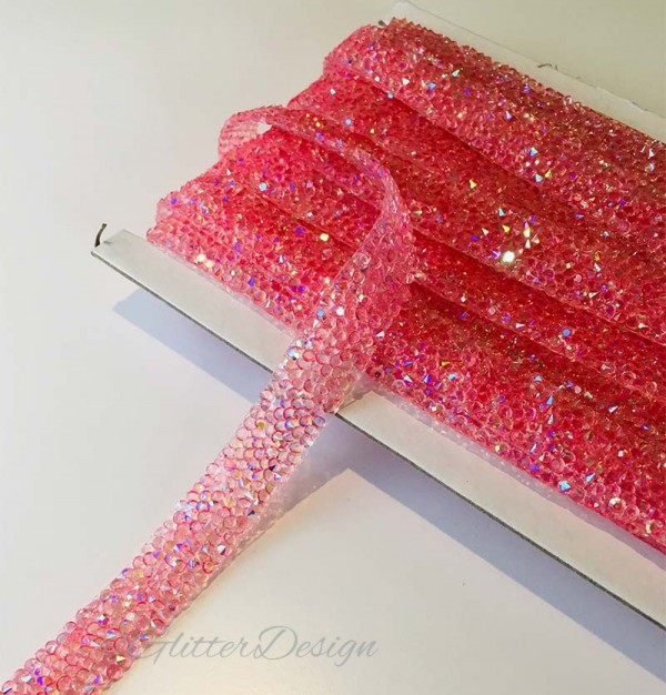 Roze Strass band kopen