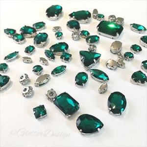 Opnaaistenen Emerald