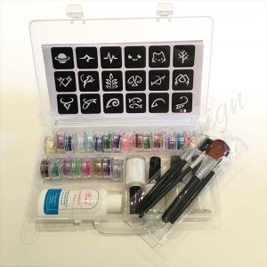 Glitter Tattoo Set de Luxe