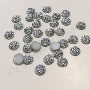 Platte Glitter steentjes om te lijmen