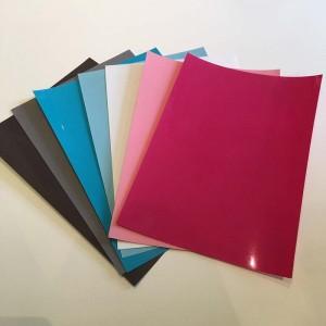 Voordeelpakket Flockfolie zachte kleuren